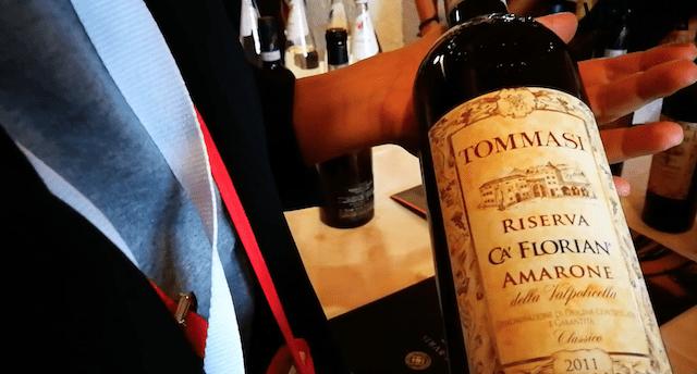 VinoVip2019 Cortina Venezie Channel bottiglia Tommasi riserva ca' florian amarone