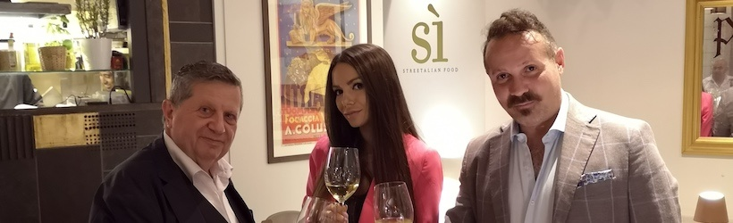 luigi Agostino mariani | Sara | si Streetalian food