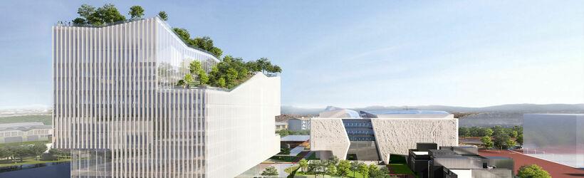 Human Technopole Headquarters progetto studio piuarch