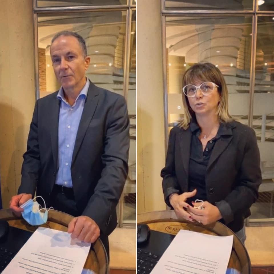 Lo staff di Vicenza for Children aa Alba Vitae 2020
