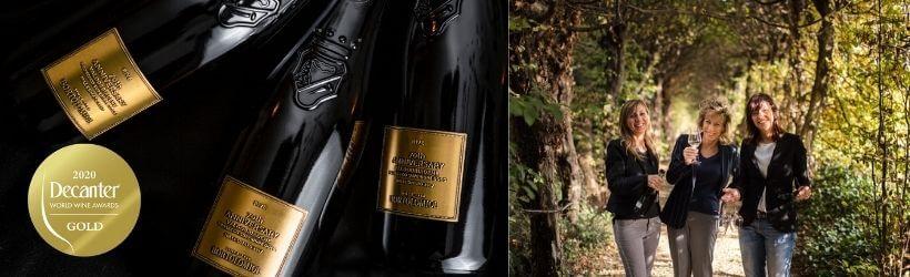 La cantina Bortolomiol guadagna una medaglia d'oro ai Decanter Wine World Awards