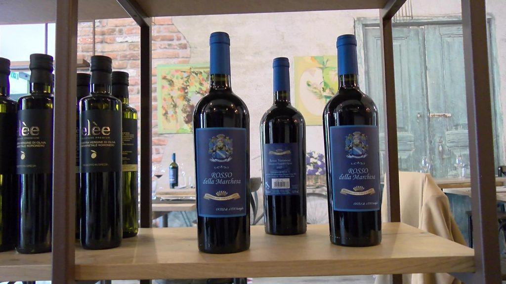 """Vini Costa e olio greco all'osteria veneta """"A modo mio"""""""