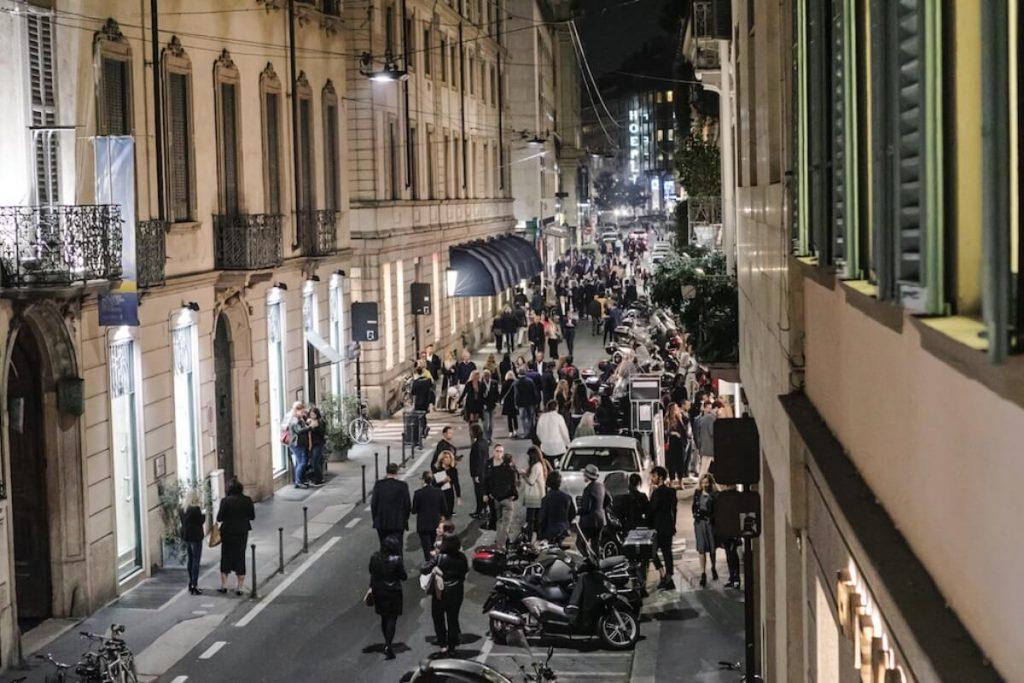 Via Montenapoleone, Milano