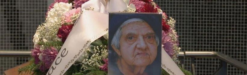 Il funerale di Mariasilvia Spolato
