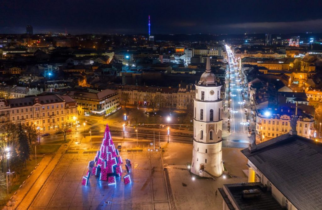 Albero di Natale 2020 Vilnius