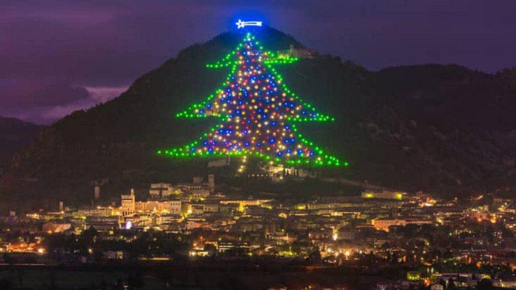 Albero di Natale, Gubbio 2020