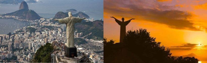Cristo Redentore di Rio de Janeiro e di Maratea