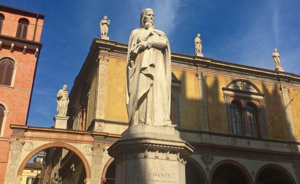 Dante Alighieri, Verona