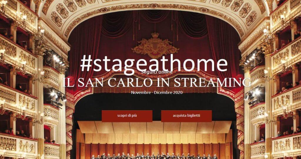 Prima Teatro San Carlo streaming