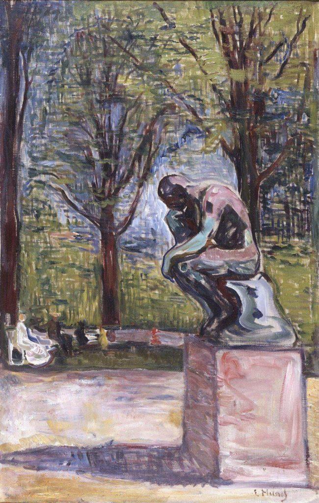 Il pensatore di Munch, dott Linde, Lubecca