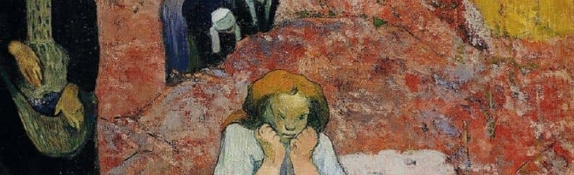 La vendemmia. Miseria umana - Gauguin